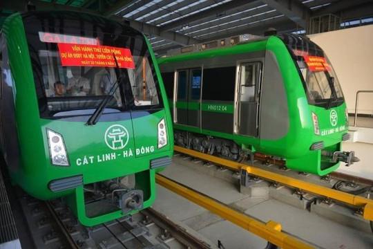 Cấp giấy chứng nhận đăng kiểm tạm thời cho 13 đoàn tàu dự án Cát Linh - Hà Đông