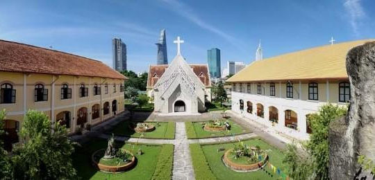 Tu viện Dòng Mến Thánh Giá và Nhà thờ Thủ Thiêm được xếp hạng Di tích kiến trúc nghệ thuật