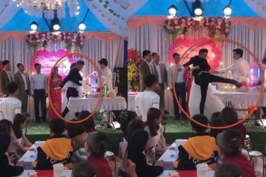 Chú rể đập phá đồ trong đám cưới ở Tam Đảo vì bố không nhận rượu mừng
