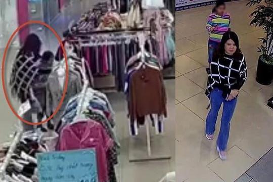 Mẹ để con gái ói vào quần áo trong shop ở Hà Nội rồi bỏ đi, nữ nhân viên uất hận