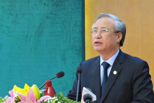 Ông Trần Quốc Vượng: 'Xử lý dứt điểm các vụ án liên quan Phan Văn Anh Vũ'