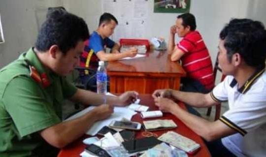 An Giang: Bắt giữ 12 người tổ chức đá gà, lắc tài xỉu ở vùng quê