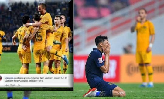 Tuyên bố thắng U23 Việt Nam 10-0, fan Thái sợ bị 'nghiệp quật' sau khi thua Úc