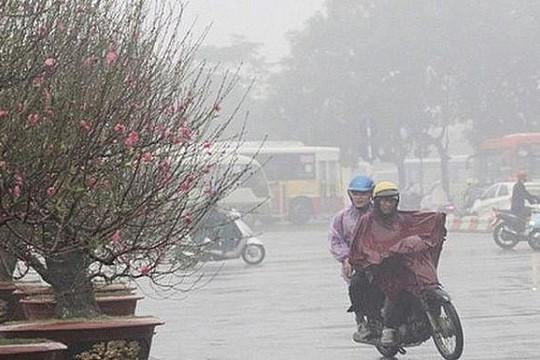 Miền Bắc tiếp tục rét lạnh, Nam Bộ nắng nóng 34 độ