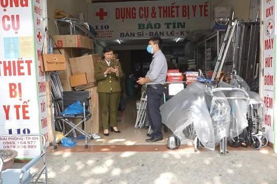 Đà Nẵng: Xử lý một cửa hàng y tế bán khẩu trang giá cao