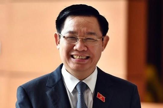 Phó thủ tướng Vương Đình Huệ làm Bí thư thành ủy Hà Nội