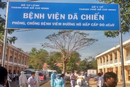 TP.HCM: Đưa vào hoạt động bệnh viện dã chiến 300 giường để chống dịch nCoV