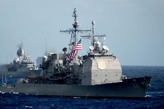 Tàu chiến Mỹ đi qua eo biển Đài Loan, chọc giận Trung Quốc