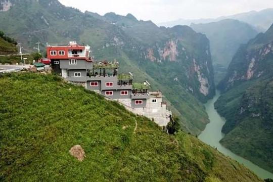 Hà Giang vẫn chưa xử lý công trình Panorama ở đèo Mã Pí Lèng