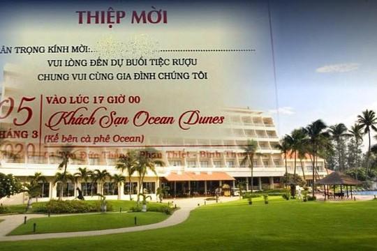 Bệnh nhân 34 phủ nhận dự đám cưới, UBND Bình Thuận không tin, yêu cầu trích xuất camera