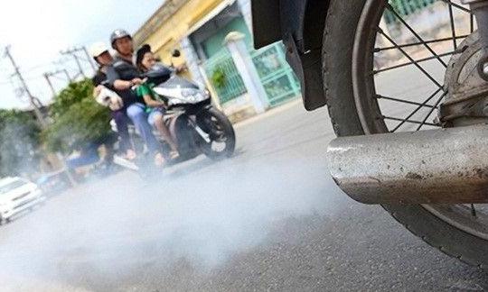 TP.HCM kiểm tra khí thải, loại xe máy 'hết đát' gây ô nhiễm