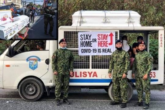 Cô gái Việt ở Philippines kể chuyện cảnh sát cảnh báo 'ở nhà hoặc trong quan tài'