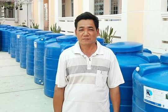 Sóc Trăng: Người bảo vệ trường học 31 lần tham gia hiến máu
