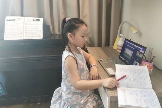 Vai trò của phụ huynh trong việc giúp con em học trực tuyến