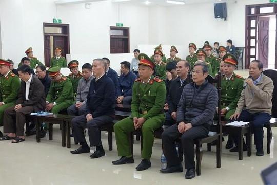 Tòa mở phiên xét xử phúc thẩm bị cáo Nguyễn Bắc Son và đồng phạm