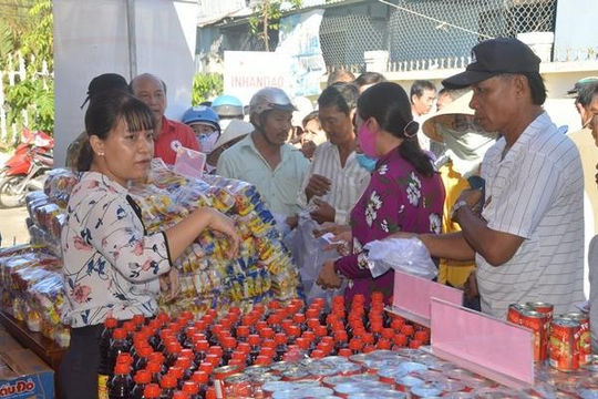 Sóc Trăng: Hội chợ nhân đạo cho người có hoàn cảnh khó khăn