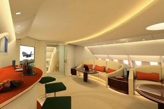 Nội thất xa hoa trên 'cung điện bay' Airbus A380 chưa bao giờ được thiết kế