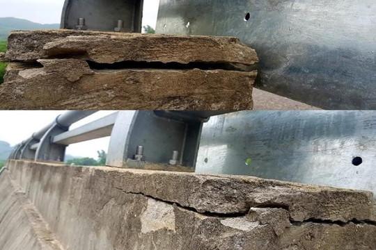 Cao tốc La Sơn-Túy Loan chưa xong đã xuống cấp: Ban quản lý đổ lỗi đơn vị thi công