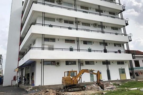 TP.HCM: Quận Thủ Đức cưỡng chế hàng loạt công trình sai phạm
