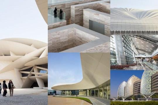 Những công trình kiến trúc độc đáo và gây choáng ngợp ở Qatar