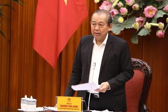 Phó Thủ tướng Trương Hòa Bình muốn đẩy nhanh cổ phần hóa