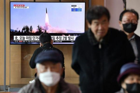 Triều Tiên phóng tên lửa, Mỹ triển khai máy bay trinh sát
