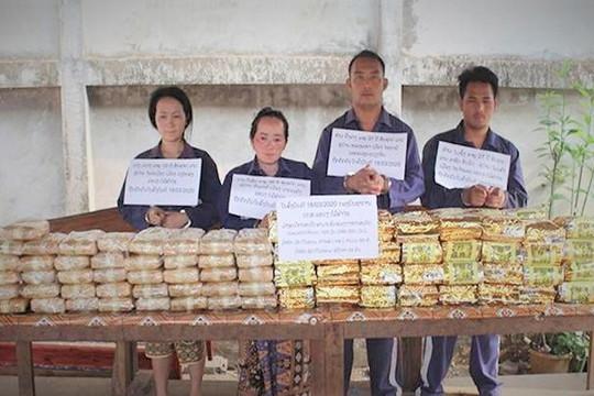 Phá đường dây đưa 60kg ma túy tổng hợp, 240.000 viên hồng phiến từ Lào về Việt Nam