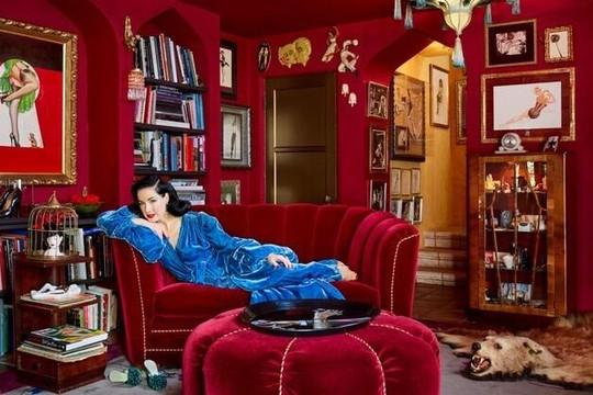 Vũ nữ thoát y số 1 thế giới khoe ảnh ngôi nhà 'độc nhất vô nhị' trên tạp chí kiến trúc