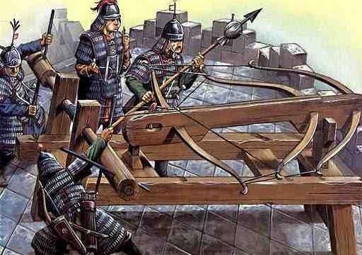 Lý Thường Kiệt dùng tượng binh, máy bắn đá công phá Ung châu