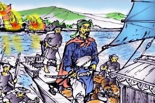 Nhà Trần dùng thủy quân lấn biên, ra oai với người Tống