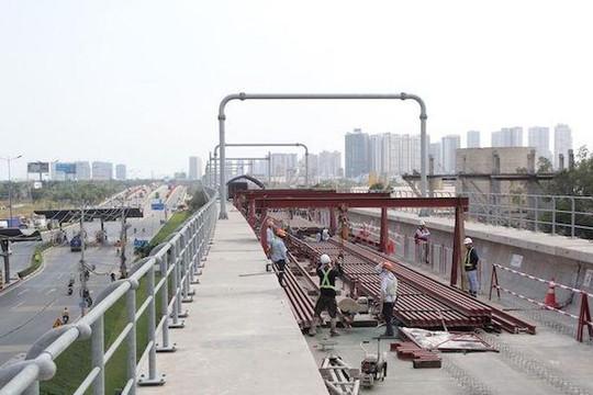 Lập tổ công tác liên ngành thực hiện các dự án đường sắt đô thị TP.HCM