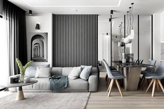 Ý tưởng thiết kế nội thất tối giản với tông trắng - xám không bao giờ là cũ