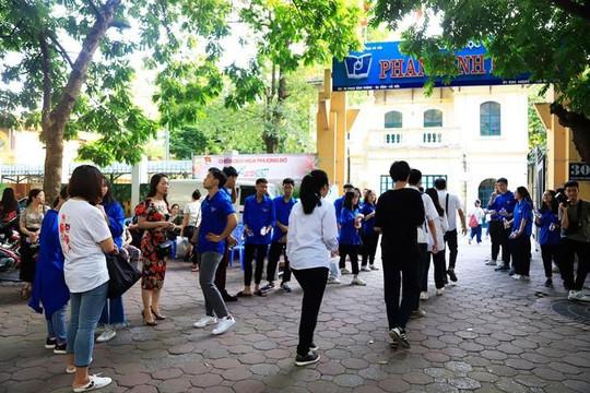 Học sinh háo hức bước vào kỳ thi vào lớp 10 THPT trên địa bàn Hà Nội