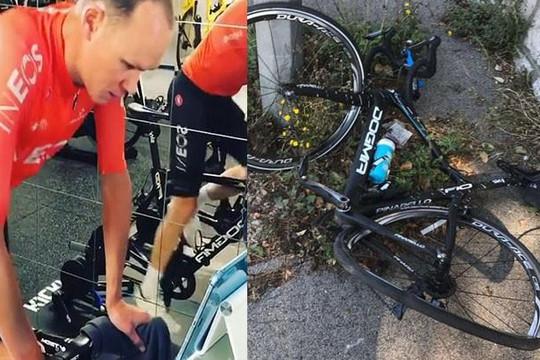 VĐV xe đạp hồi phục sau tai nạn kinh hoàng, gãy nhiều xương