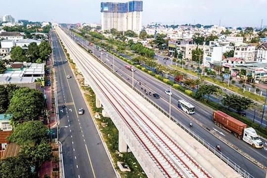 UBND TP.HCM chấp thuận tạm ứng cho dự án tuyến đường sắt đô thị số 1