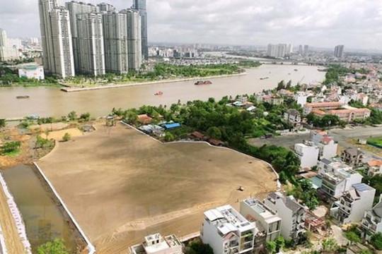 TP.HCM đang hoàn thiện việc xác định ranh giới khu 4,3ha dự án Khu đô thị mới Thủ Thiêm
