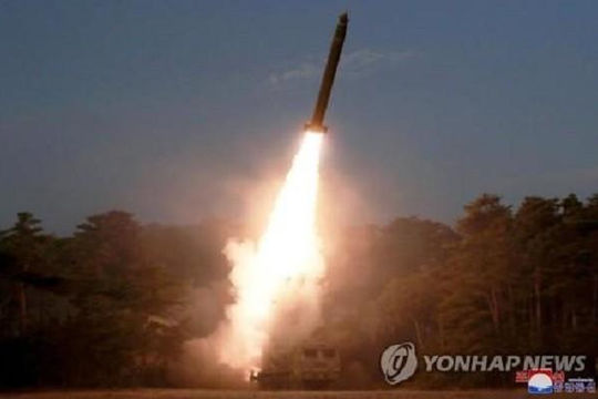 Triều Tiên phóng tên lửa lần thứ 3 trong tháng này