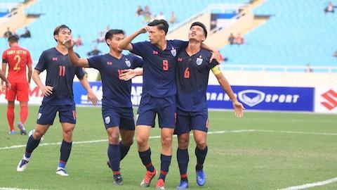 Sau Việt Nam, U.23 Thái Lan cũng thất bại trước Saudi Arabia