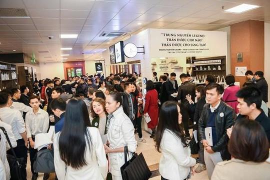 Trung Nguyên E-coffee 'đổ bộ' thị trường miền Bắc với chính sách nhượng quyền 0 đồng