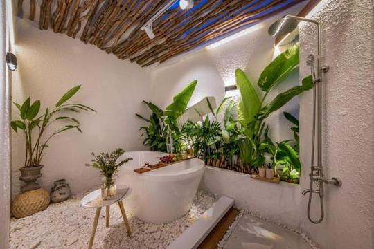 Ngôi nhà có thiết kế như resort trong con hẻm nhỏ ở Sài Gòn
