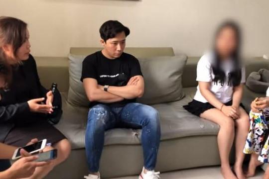 Clip Trấn Thành và luật sư đến nhà khuyên răn 2 cô gái tung tin đồn nhảm