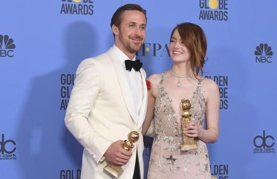 La La Land thắng lớn tại lễ trao giải Quả Cầu Vàng