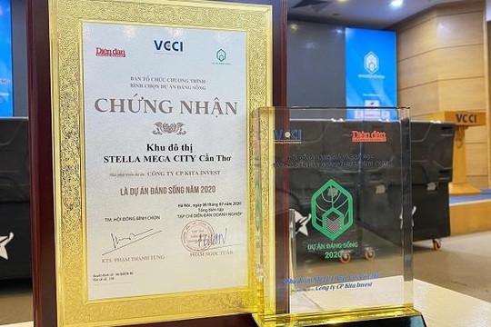 Cần Thơ: Dự án Stella Mega City nhận giải thưởng Dự án đáng sống 2020