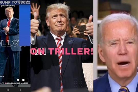 Tổng thống Trump tạo tài khoản trên đối thủ của TikTok, đăng video chế nhạo Joe Biden