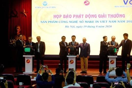 Phát động Giải thưởng 'Sản phẩm công nghệ số Make in Viet Nam' năm 2020