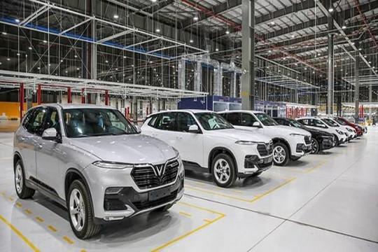 Gặp khó vì COVID-19, ô tô trong nước được gia hạn chậm nộp thuế tiêu thụ đặc biệt