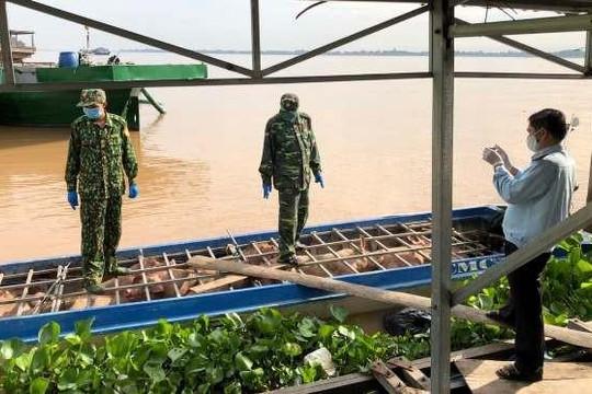 An Giang: Bắt hơn 6 tấn heo nhập lậu từ Campuchia