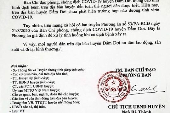 Tin đồn cách ly khu dân cư lan truyền trên Facebook, Chủ tịch huyện Đầm Dơi lên tiếng