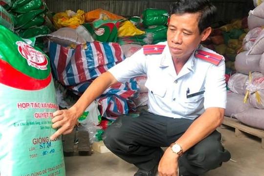 Bạc Liêu: Phạt nặng hợp tác xã bán lúa giống 'dỏm'