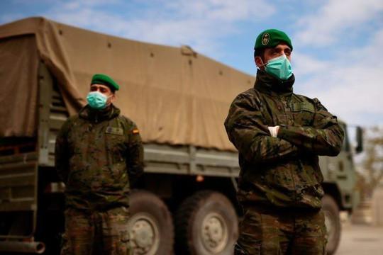 Tây Ban Nha dùng quân đội truy tìm người nhiễm COVID-19